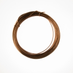 12 Gauge Antique Copper Anodized Aluminum Wire - 39ft