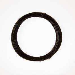 12 Gauge Black Anodized Aluminum Wire - 39ft