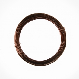 12 Gauge Brown Anodized Aluminum Wire - 39ft