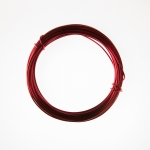 12 Gauge Red Anodized Aluminum Wire - 39ft