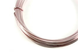 12 Gauge Rose Anodized Aluminum Wire - 39ft