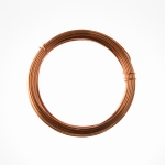 12 Gauge Bright Copper Anodized Aluminum Wire - 39ft