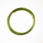 12 Gauge Lime Green Anodized Aluminum Wire - 39ft