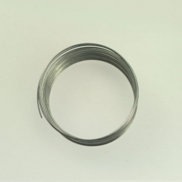22 Gauge Bracelet Memory Wire Silver Finish - Approximatly 30 Coils