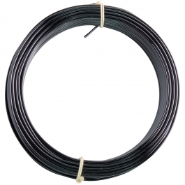 14 Gauge Black Enameled Aluminum Wire - 60FT