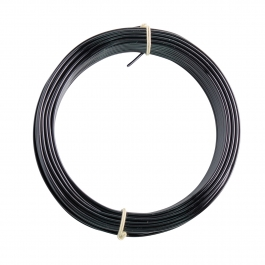 16 Gauge Black Enameled Aluminum Wire - 100FT