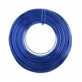 18 Gauge Blue Enameled Aluminum Wire - 200ft