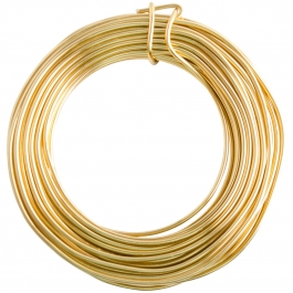 12 Gauge Gold Enameled Aluminum Wire - 40FT