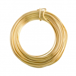 14 Gauge Gold Enameled Aluminum Wire - 60ft