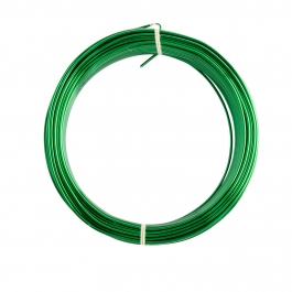 16 Gauge Green Enameled Aluminum Wire - 100FT