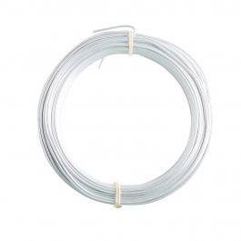 16 Gauge Matte Silver Enameled Aluminum Wire - 100FT