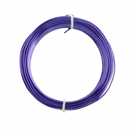 18 Gauge Purple Enameled Aluminum Wire - 200ft