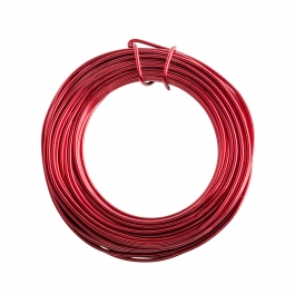 16 Gauge Red Enameled Aluminum Wire  - 100FT