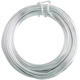 12 Gauge Silver Enameled Aluminum Wire - 40FT