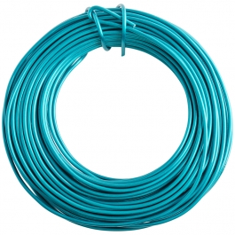 12 Gauge Turquoise Enameled Aluminum Wire - 40FT