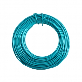 14 Gauge Turquoise Enameled Aluminum Wire - 60ft