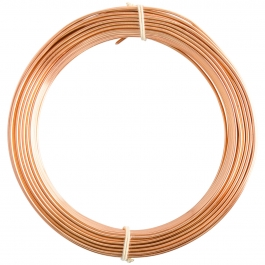 14 Gauge Bright Copper Enameled Aluminum Wire - 60FT