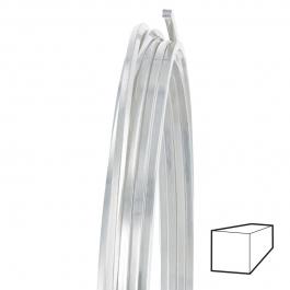 16 Gauge Square Half Hard Argentium .930 Silver Wire - 1 FT