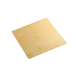 24 Gauge Half Hard Double Clad Gold Filled Sheet - 4 Inches