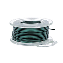 22 Gauge Round Teal Enameled Craft Wire - 45 ft