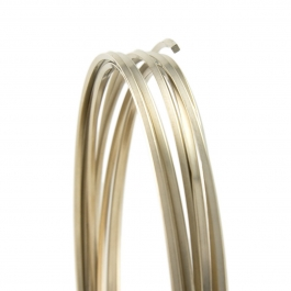 21 Gauge Square Dead Soft Nickel Silver Wire