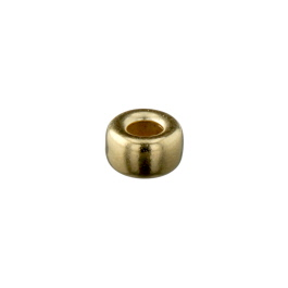 Gold Filled Bright Roundel 5mm - Pack of 10