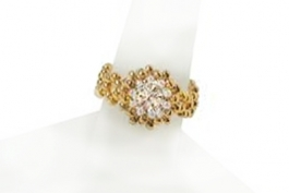 Cubic Zirconia Precious Ring Kit--Gold