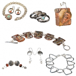 Metalworking 101 Supply Kit in Sterling Silver