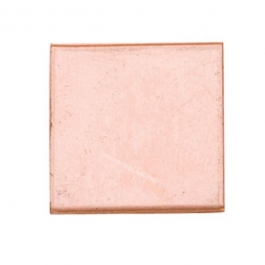 Copper Shape, Square, 11/16 inch, 6 Pieces