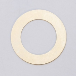 BRASS 24ga - LARGE RING - Pack of 6