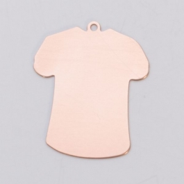 COPPER 24ga - LARGE T-SHIRT W/RING - Pack of 6