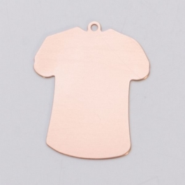 COPPER 24ga - SMALL T-SHIRT W/RING - Pack of 6