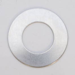 Nickel Silver Washer, 24 Gauge, 1 Inch, Pack of 6