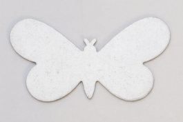 Nickel Silver Butterfly, 24 Gauge, 1-5/16 by 3/4 Inch, Pack of 6