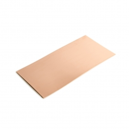 26 Gauge 0.016 Dead Soft Copper Sheet Metal - 6x12 Inch