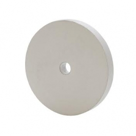 Large Silicone Polishing Wheels, White, Coarse Grit, 4 Inches by 1/2 Inch