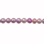 5-6mm Lavender Freshwater Potato Pearls Large 1.2mm Hole - 16 Inch Strand