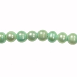 8-9mm Aqua Freshwater Potato Pearls Large 2mm Hole - 16 Inch Strand