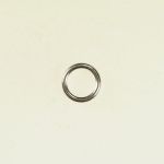 Silver Filled Round Jump Ring Closed 6MM 14GA (1.6MM) Pack of 2