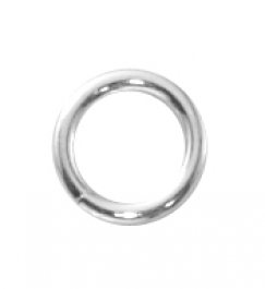 Silver Filled Round Jump Ring Closed  4MM 22GA (.64MM) Pack of 20