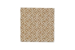 "Lillypilly - Brown Geometric - 3x3"" Sheet"