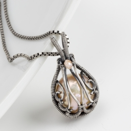 Dew Drop Pendant with Sarah Thompson - LIVE Streaming Class 2/03/2017 2:30pm - 6:00pm
