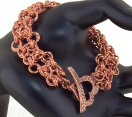 Foursquare Bracelet with Marilyn Gardiner - LIVE Streaming Class 2/05/2017 10:30am - 2:00pm