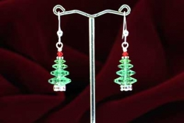 Oh, Crystal Tree Earring Kit - Peridot