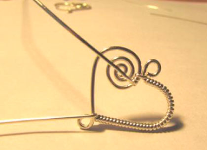 how to make a heart drop frame