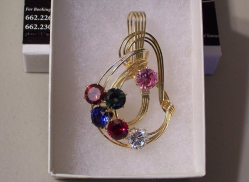 Birthstone Pendant - Mother's Day gift