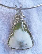 Sun Jade Pendant by Kathy Evert