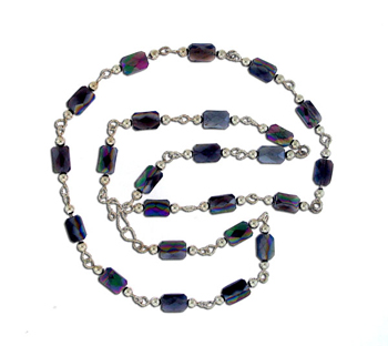 Irradiated Quartz Necklace