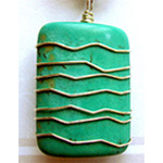 Rectangle Bead Pendant