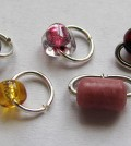 Beaded Jump Rings by Albina Manning